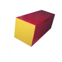 35x35x80 cm. Blok Çubuk Minder Pvc Kaplı